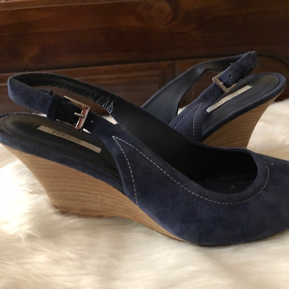 f6e72836c1a Geox Shoes - Geox Respira Ladies Navy Suede Sandals - 7 1 2